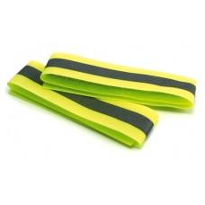 HVEAB4 Pair Yellow Reflective Armbands