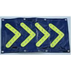 HVE4MT LED Flashing & Reflective Safety  Mat