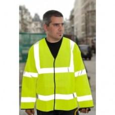 HVE200CV Hi Visibility Long Sleeved Cool Viz  Vest