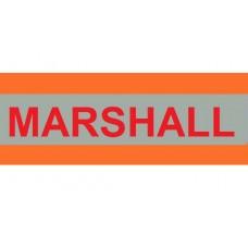 HVE1008 XL Orange Armband Printed MARSHALL
