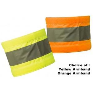 HVEAB1XL XL Hi Visibility Reflective Armband