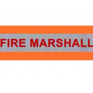 HVE1002 XL Orange Armband FIRE MARSHALL
