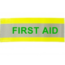 HVE1001 XL Armband Printed FIRST AID