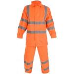 HVE163 Hi Visibility Waterproof Suit