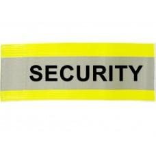 HVE1004 XL Yellow Armband Printed SECURITY