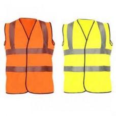 HVE100 Hi Visibility Safety Vest  EN471 Class 2