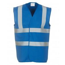 Yoko Hi Visibility Vest Royal Blue