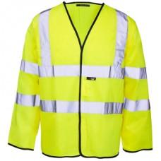 HVE200FRAS Long Sleeve Fire Retardant & Anti-static &  Hi Visibility Vest