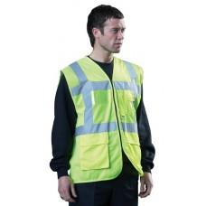 HVE100EX Executive Hi Visibility Vest