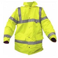 HVE300 Hi Visibility Traffic Coat Class 3